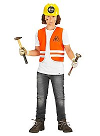 Construction worker vest for children