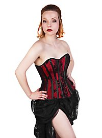 Corset Vines black & red