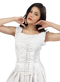 Corset with Lacing white