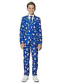 Costard SuitMeister Boys Blue Snowman pour enfant