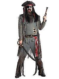 Costume de pirate zombie