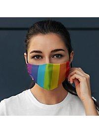 Cotton mask rainbow