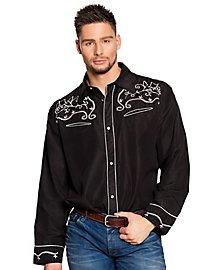 Countrysänger Cowboyhemd