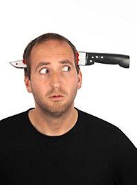 Couteau dans la tête Accessoire