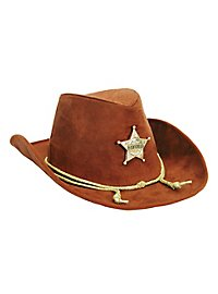 Cowboy Hat with Sheriff Star