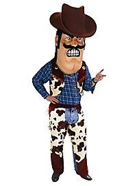 Cowboy Maskottchen