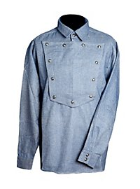 Cowboy Shirt grey-blue