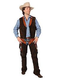Cowboy Vest Deluxe brown