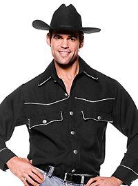 Cowboyhemd schwarz