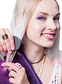 Craie pour cheveux blanche