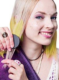 Craie pour cheveux jaune