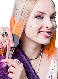 Craie pour cheveux orange