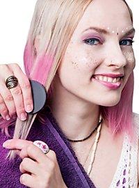 Craie pour cheveux rose