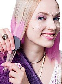 Craie pour cheveux rose clair