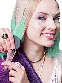 Craie pour cheveux verte