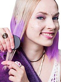 Craie pour cheveux violette