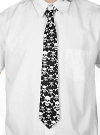 Cravate têtes de mort