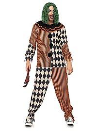 Crazy Creepy Clown Kostüm