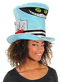 Crazy hat maker hat grinning cat cylinder