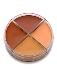 Creme Make-up hautfarben Schminkdose