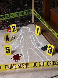 Crime Scene Decoration