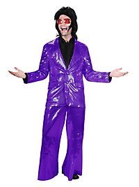 Crooner Sequined Suit purple  Costume