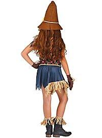 Crow Scare Child Costume