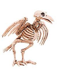 Crow skeleton Halloween decoration