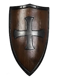 Crusader Shield wood grain