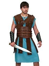 Cuirasse en cuir de gladiateur
