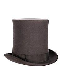 Cylinder hat extra high grey