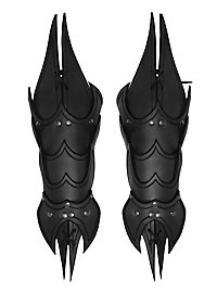Armschienen - Dämon schwarz