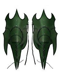Beintaschen - Dämon grün