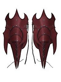 Beintaschen - Dämon rot