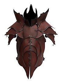 Lederrüstung mit Schultern - Dämon braun