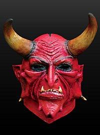 Dämonenfürst Maske aus Latex
