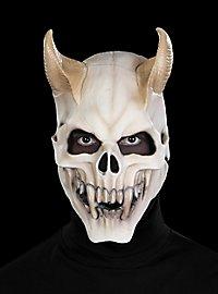 Dämonenschädel Maske aus Latex