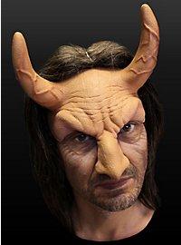 Dämonischer Verführer Halbmaske aus Latex