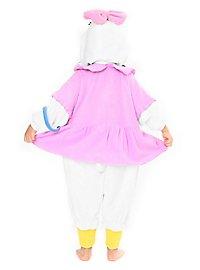 Daisy Duck Kigurumi kid's costume