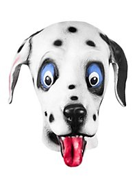 Dalmatiner Maske aus Latex