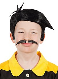 Daltons Kids wig and mustache