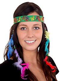 Damen Stirnband mit Federn