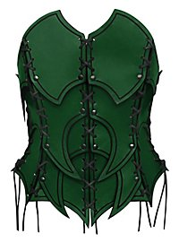 Dark Elf Leather Corset