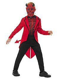 Day of the Dead Devil Costume for Children