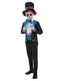 Day of the Dead Neon costume for boys