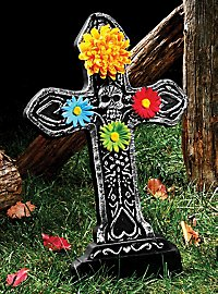 Day of the Dead tombstone heart