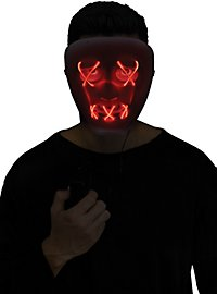 Dead Eyes Light Mask red