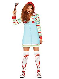 Deadly doll hoodie dress