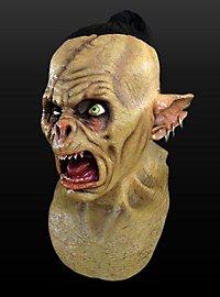 Debiler Ork Maske aus Latex