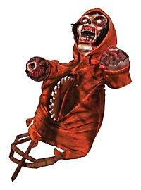 Décoration d'Halloween animée Torse scie circulaire